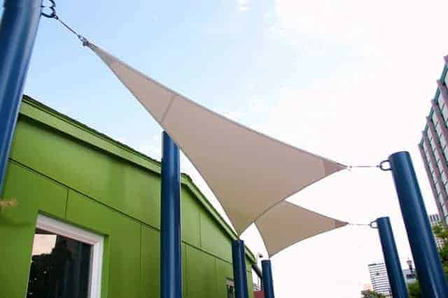 Portland awning shade sails