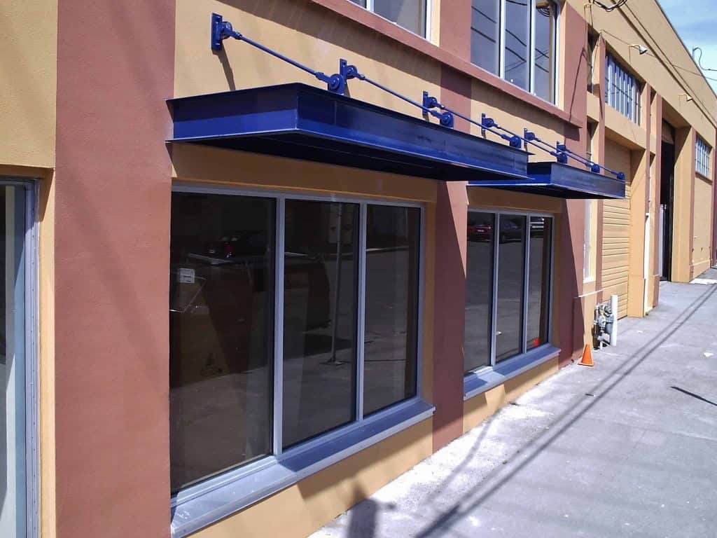 Commercial Metal Awnings – Pike Awning